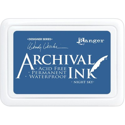 Archival Ink Pad, Night Sky