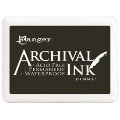 Archival Ink Pad, Jet Black