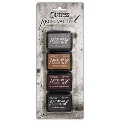 Distress Archival Mini Ink Kits, #3