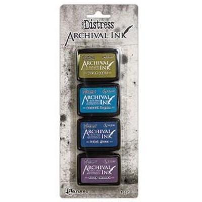 Distress Archival Mini Ink Kits, #2