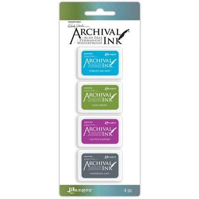 Archival Mini Ink Pads, Wendy Vecchi Kit 2