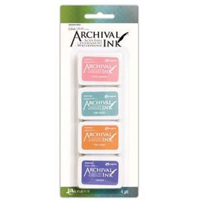 Archival Mini Ink Pads, Wendy Vecchi Kit 3