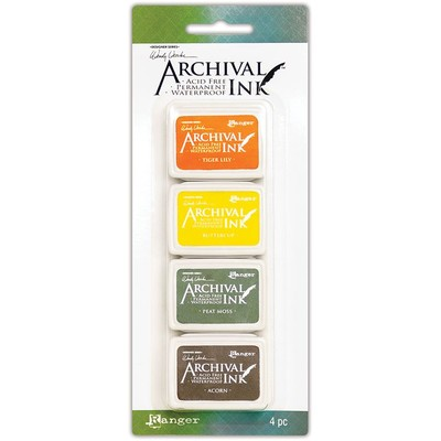 Archival Mini Ink Pads, Wendy Vecchi Kit 5