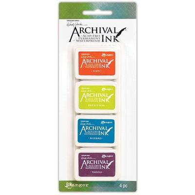 Archival Mini Ink Pads, Wendy Vecchi Kit 6
