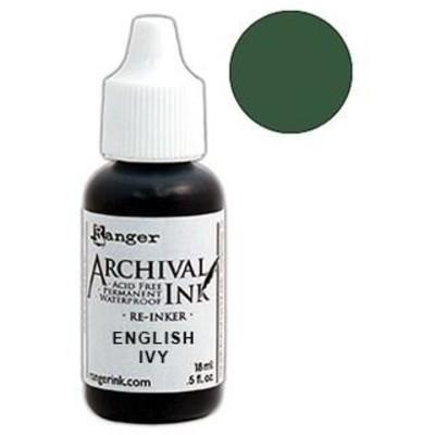 Make Art Archival Ink Reinker, English Ivy