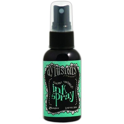 Dylusions Ink Spray, Vibrant Turquoise