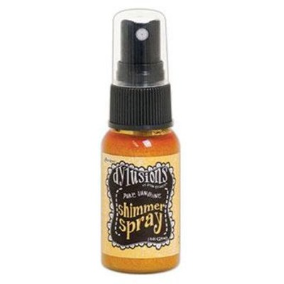 Dylusions Shimmer Spray, Pure Sunshine