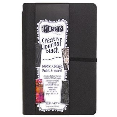 Dylusions Journal, Black (Small)