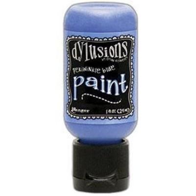 Dylusions Paint, 1 oz. Flip Cap Bottle - Periwinkle Blue