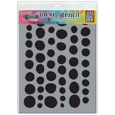 Dylusions Stencil, Large - Coins