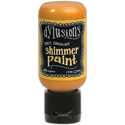 Dylusions Shimmer Paint, Pure Sunshine (1oz)