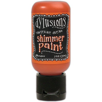 Dylusions Shimmer Paint, Tangerine Dream