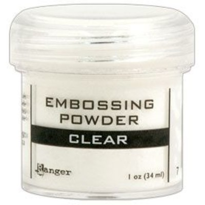 Embossing Powder, Clear