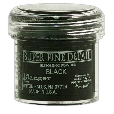 Embossing Powder, Super Fine - Black