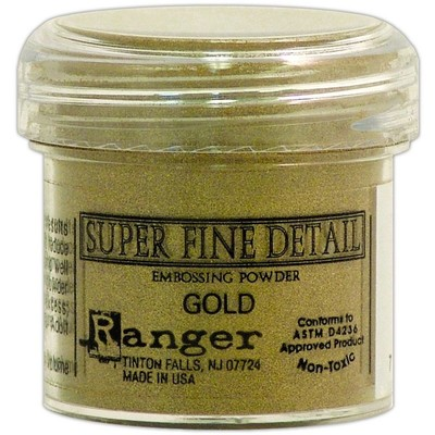 Embossing Powder, Super Fine - Gold