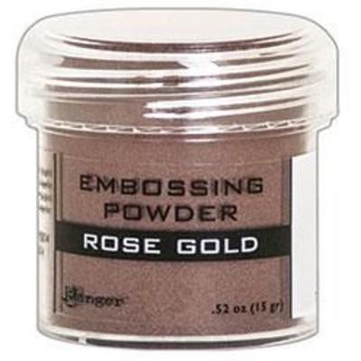 Embossing Powder, Rose Gold Metallic