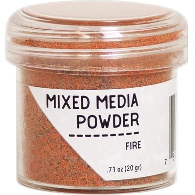 Mixed Media Powder, Fire