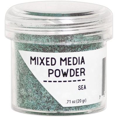 Mixed Media Powder, Sea