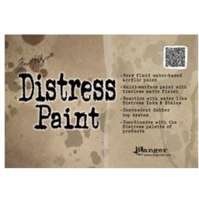 Header Card, Tim Holtz Distress Paint Display