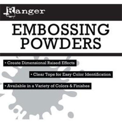 Header Card, Embossing Powder Display