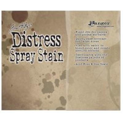 Header Card, Tim Holtz Distress Spray Stains