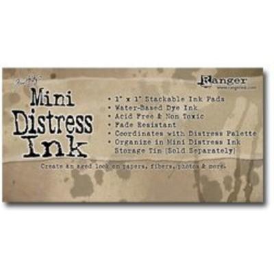 Header Card, Mini Ink Pads
