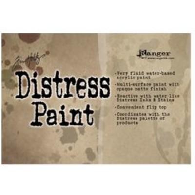 Header Card, Tim Holtz Distress Paint 1oz Flip Top