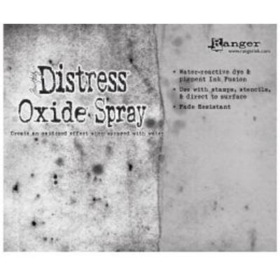 Header Card, Tim Holtz Distress Oxide Spray