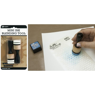 "Inkssentials Mini Ink Blending Tool 1"" Round"
