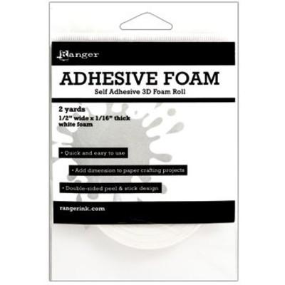 """Foam Roll, White - 1/2"""" x 1/16"""" x 2y"""
