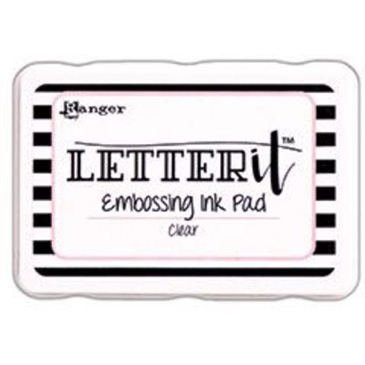 Letter It Embossing Ink Pad, Clear
