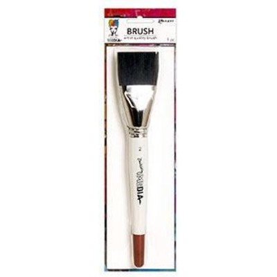 "Dina Wakley MEdia Brush, Synthetic Bristle (2"")"