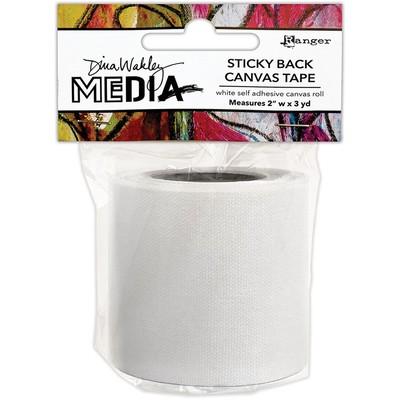 """Dina Wakley MEdia Sticky Back Canvas Tape, 2"""""""
