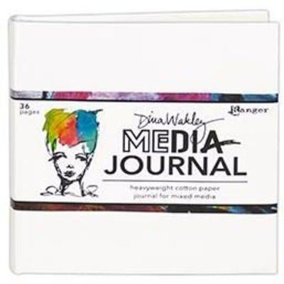 Journal, Dina Wakley Media - 6x6 White