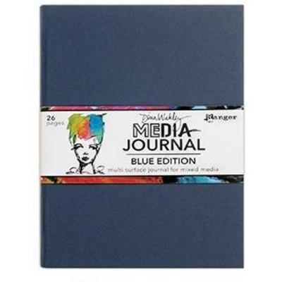 Dina Wakley MEdia Journal, Blue Edition