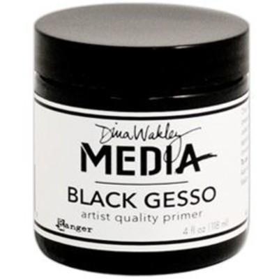 Media Gesso, Black 4oz