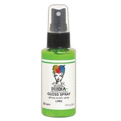 Dina Wakley MEdia Gloss Spray, Lime