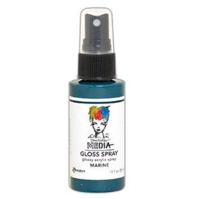 Dina Wakley MEdia Gloss Spray, Marine