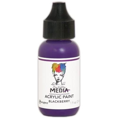 Heavy Body Acrylic Paint, Blackberry (1 oz. Bottle)