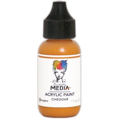 Heavy Body Acrylic Paint, Cheddar (1 oz. Bottle)