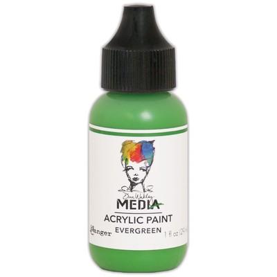 Heavy Body Acrylic Paint, Evergreen (1 oz. Bottle)