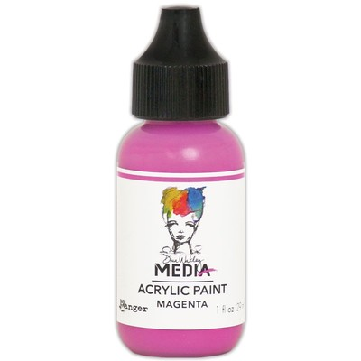 Heavy Body Acrylic Paint, Magenta (1 oz. Bottle)