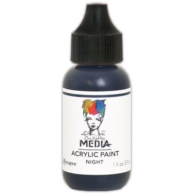 Heavy Body Acrylic Paint, Night (1 oz. Bottle)