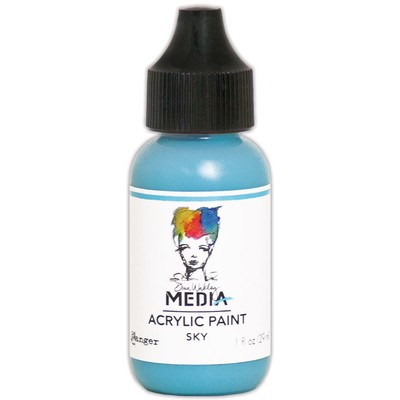 Heavy Body Acrylic Paint, Sky (1 oz. Bottle)