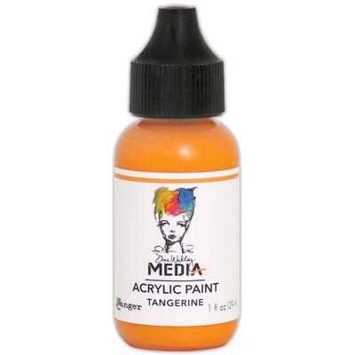 Heavy Body Acrylic Paint, Tangerine (1 oz. Bottle)