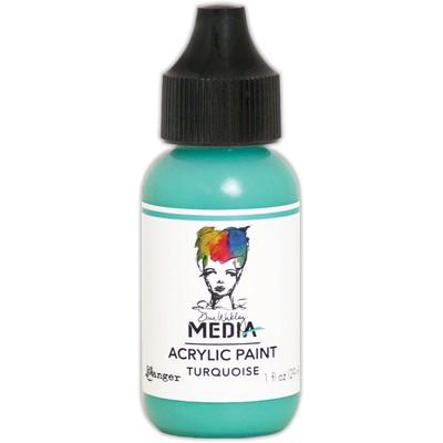 Heavy Body Acrylic Paint, Turquoise (1 oz. Bottle)