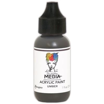 Heavy Body Acrylic Paint, Umber (1 oz. Bottle)