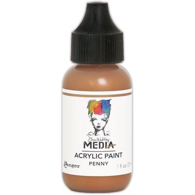 Heavy Body Acrylic Paint, Penny (1 oz. Bottle)