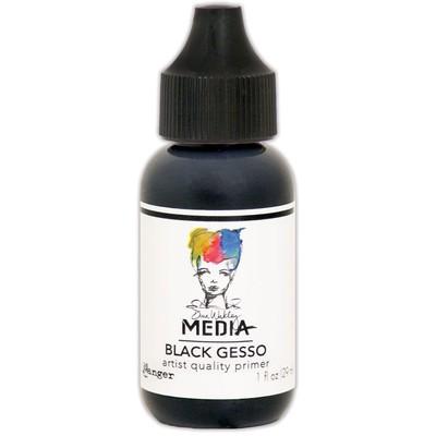 Medium, Black Gesso 1oz