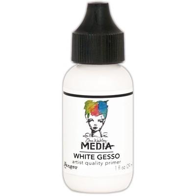 Medium, White Gesso 1oz